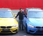 Greater Noida: Sachin launches BMW 'M3' and 'M4'