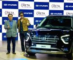 Greater Noida: Auto Expo 2020 - Shah Rukh Khan at the launch of second-generation Hyundai Creta
