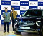 Greater Noida: Auto Expo 2020 - Shah Rukh Khan at the launch of second-generation Hyundai Creta