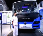 Greater Noida: Ashok Leyland's Circuit-S Electric Bus