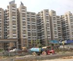 Greater Noida: Under-construction skyscrapers