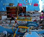 INDONESIA GRESIK KINDERGARTEN COLLAPSE AFTERMATH