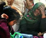 Bawana factory fire - Grief struck relatives