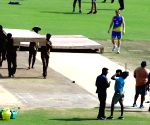 IPL 2019 - Match preparations underway at M. A. Chidambaram Stadium