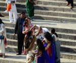 British Royal couple visit Banganga Tank
