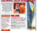 Infographics: Growing Delhi-Riyadh Ties  work in India