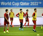 CHINA-GUANGZHOU-SOCCER-2022 FIFA WORLD CUP QULIFIER-GROUP A-CHN VS GUM-TRAINING SESSION