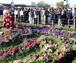 Gujarat CM inaugurates a flower show