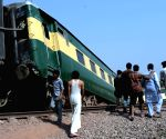PAKISTAN GUJRANWALA TRAIN ACCIDENT