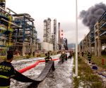 CHINA FUJIAN CHEMICAL PLANT BLAST REIGNITING