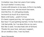 Free Photo: Gulshan Devaiah pens poem to mark 10 years in Bollywood.