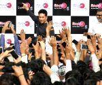 Sachin Tendulkar at the launch of a gaming centre