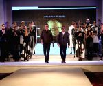Blenders Pride Fashion Tour 2015 - Designer  Abraham and Thakore show