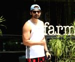 : Gurmeet Choudhary spotted farmers cafe in Bandra