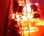 Fire breaks out in Palam, 6 including 3 toddlers rescued