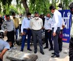 Gurugram municipal commissioner inspects areas ahead of monsoon