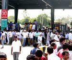 Gurugram police detain group for sitting on Delhi-Jaipur Expressway