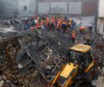 Six die in Gurugram building collapse