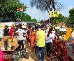 Free Photo: Gurugram unaffected by Bharat Bandh
