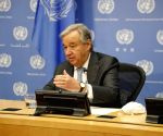 UN chief concerned about