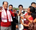 Assam CM at Bhogali Utsav 2015