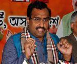 'Mahagathbandhan' a non-starter, says Ram Madhav