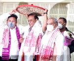 Himanta Biswa Sarma to take charge as 15th Assam CM (Ld)