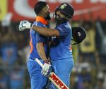 Rohit, Kohli star as India thrash West Indies in 1st ODI (Lead)