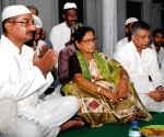 Bijoya Chakraborty during iftaar