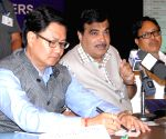 Nitin Gadkari meets northeastern CM's and PWD Ministers