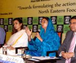 Harsimrat Kaur Badal addresses on 'Formulating the Action Agenda for the betterment of the Northeastern Food Processing Sector'