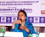 Harsimrat Kaur Badal during an interactive session