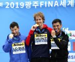 SOUTH KOREA-GWANGJU-FINA WORLD CHAMPIONSHIPS-SWIMMING-DAY 4