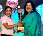 Dipa Karmakar felicitated in Kolkata