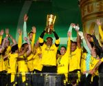 Haaland, Sanchi fire Dortmund to 5th German Cup title