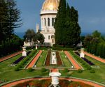 The Shrine of Baha'u'llah in Bahji