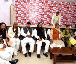 Jitan Ram Manjhi chairs HAM-S meeting