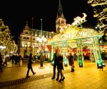 GERMANY-HAMBURG-CHRISTMAS MARKET