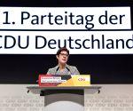 GERMANY HAMBURG CDU KRAMP KARRENBAUER