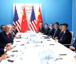 GERMANY HAMBURG CHINA U.S. XI JINPING TRUMP MEETING