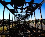 SOUTH AFRICA HAMMANSKRAAL SHACK REMOVAL PROTEST