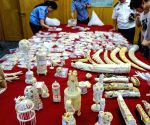 CHINA HANGZHOU CUSTOMS IVORY SMUGGLING SEIZURE