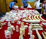 CHINA HANGZHOU CUSTOMS IVORY SMUGGLING SEIZURE
