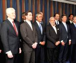 Hannover (Germany):  Modi's Round Table Meeting with the German CEOs