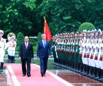 VIETNAM HANOI ROMANIA PM MEETING