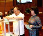 VIETNAM HANOI NA CHAIRPERSON ELECTION