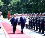 VIETNAM HANOI ITALY PM VISIT