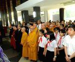 VIETNAM HANOI FORMER PRESIDENT MEMORIAL SERVICE