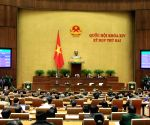 VIETNAM-HANOI-14TH NATIONAL ASSEMBLY-CLOSING CEREMONY