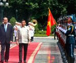 VIETNAM HANOI PHILIPPINES PRESIDENT VISIT